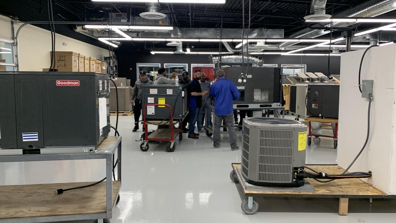 HVAC Class at CSN