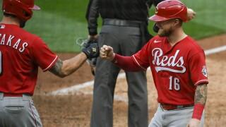 Reds Twins Baseball