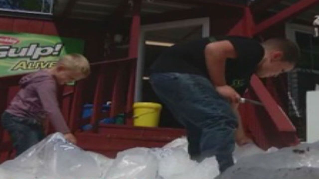 Taylor County residents slammed by Hermine