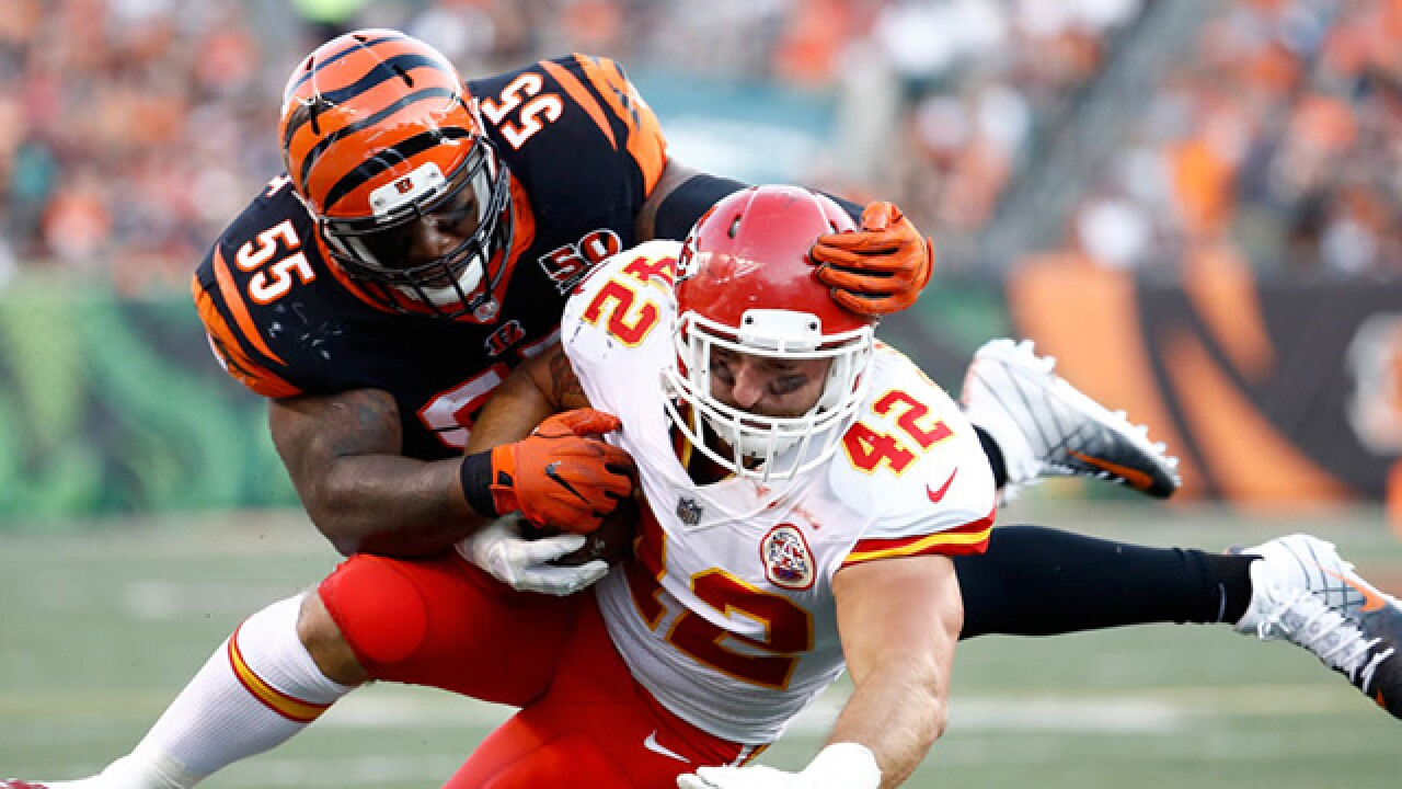 Next up: Chiefs host Bengals on Sunday night football
