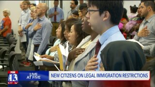 New US citizens in SLC say process is tough enough without new Trump rule