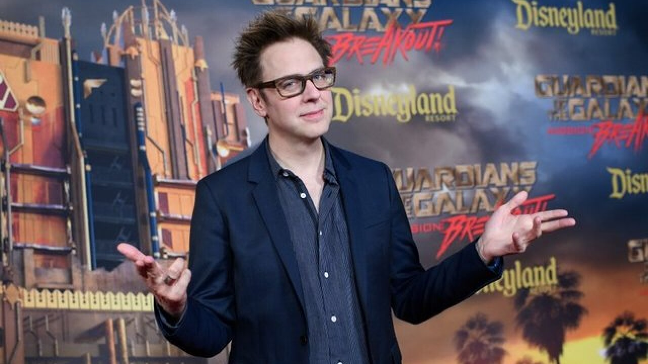 'Guardians of the Galaxy' cast signs open letter in support of fired director James Gunn