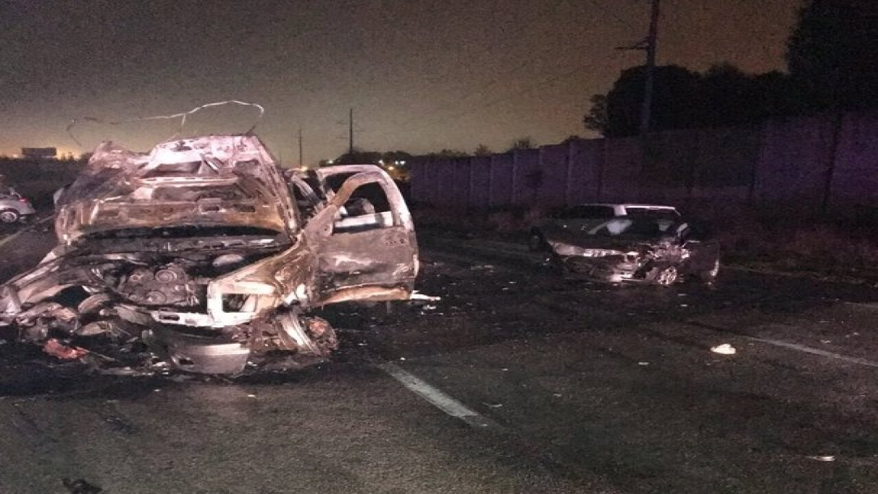 Alcohol-related wrong way crash in Polk claims 1