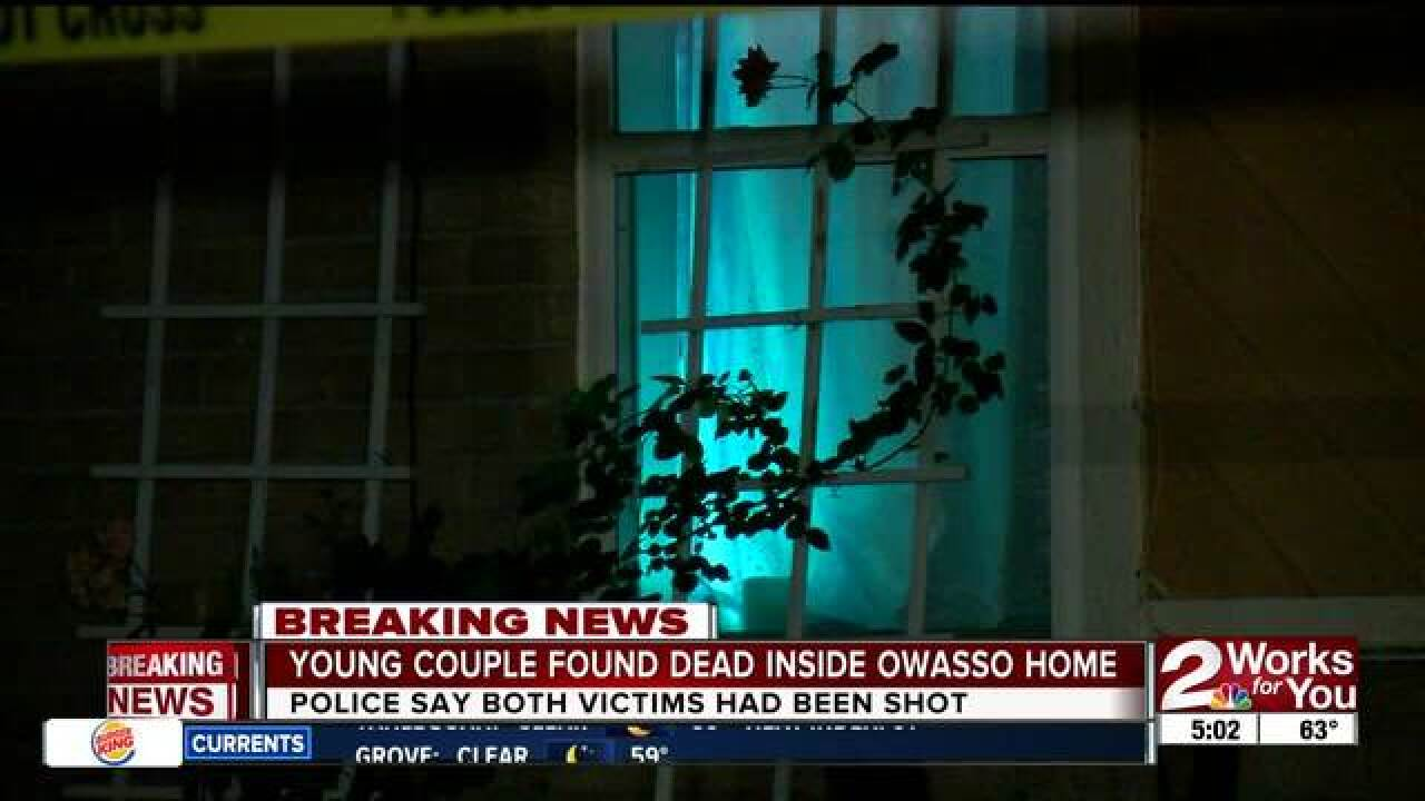 Owasso couple found dead inside home