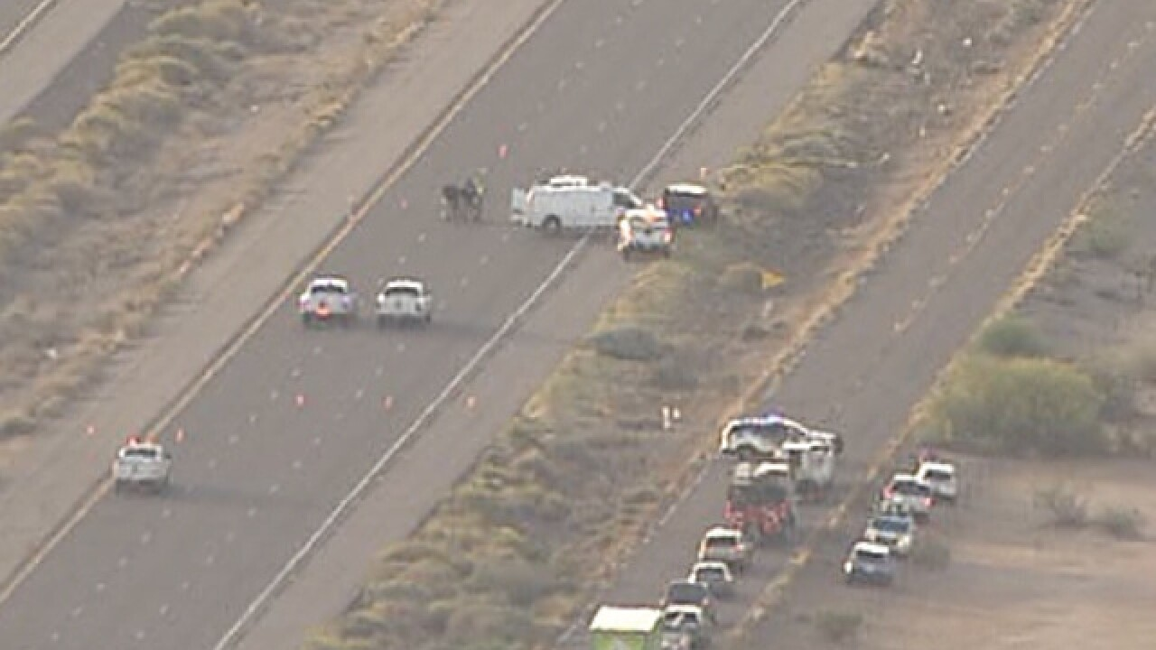 EB I-10 closed near Eloy for police situation
