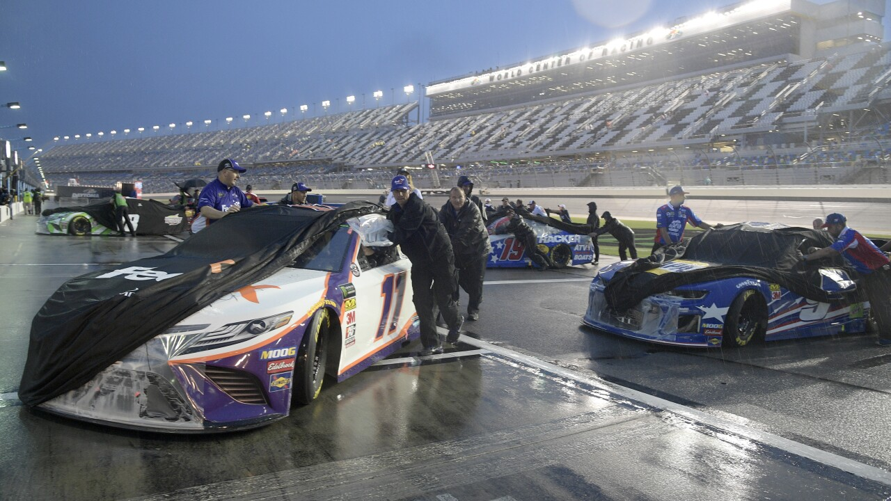 NASCAR Daytona postponed
