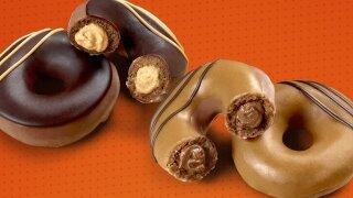 Krispy Kreme Reese's Collab