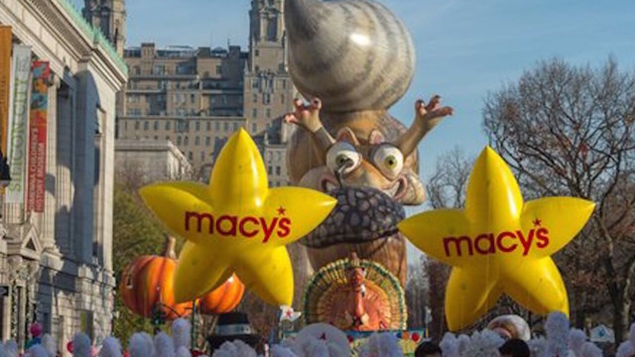 NYC Thanksgiving parade gets underway
