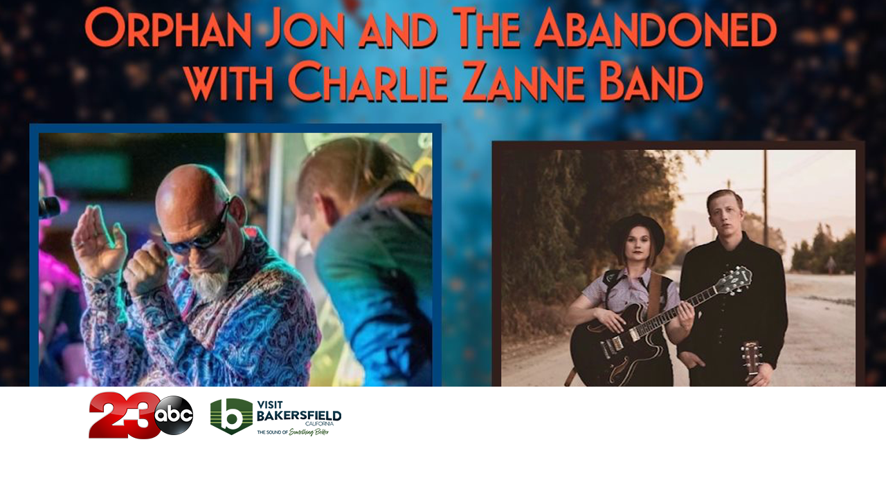 Orphan Jon and The Abandoned with Charlie Zanne Band