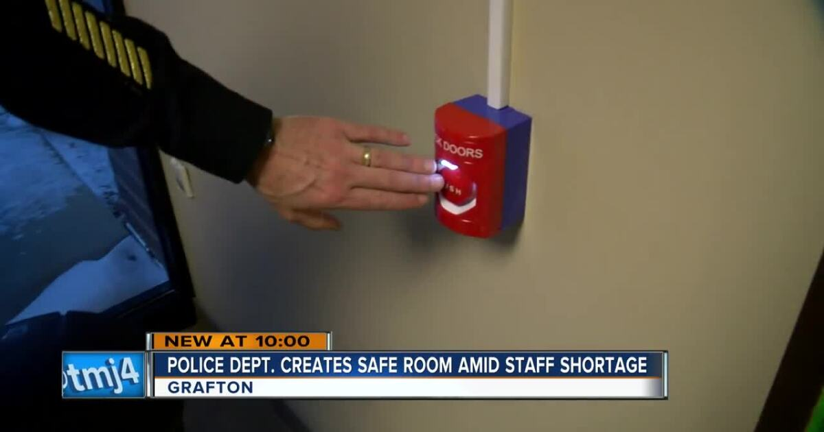 Grafton Police Introduce Safe Room In The Department S Lobby