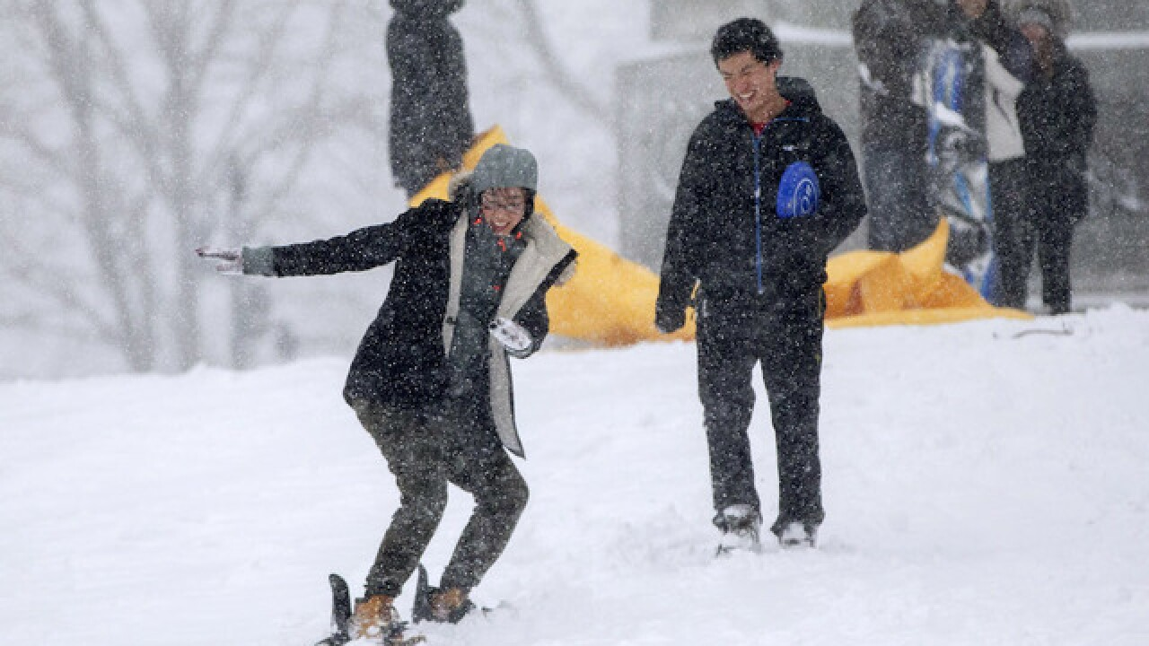 More than 70 million people brace for nor'easter