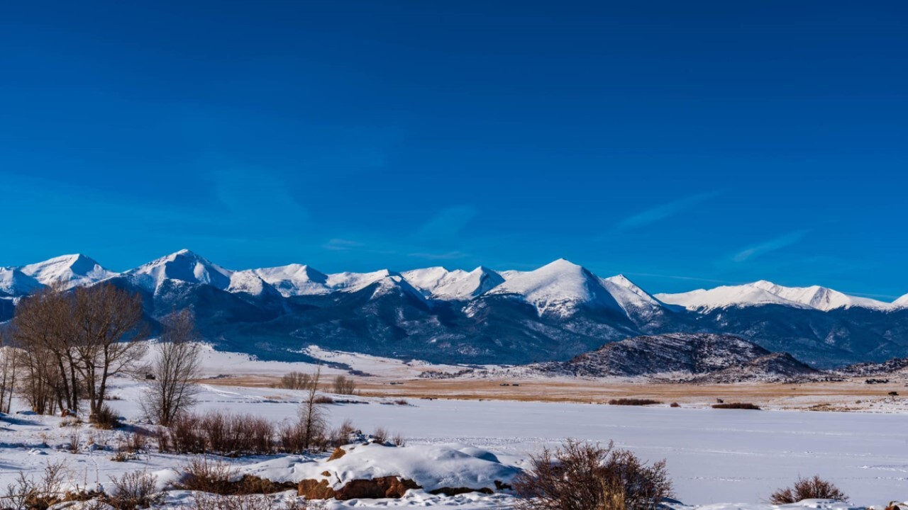 Winter at Lake DeWeese