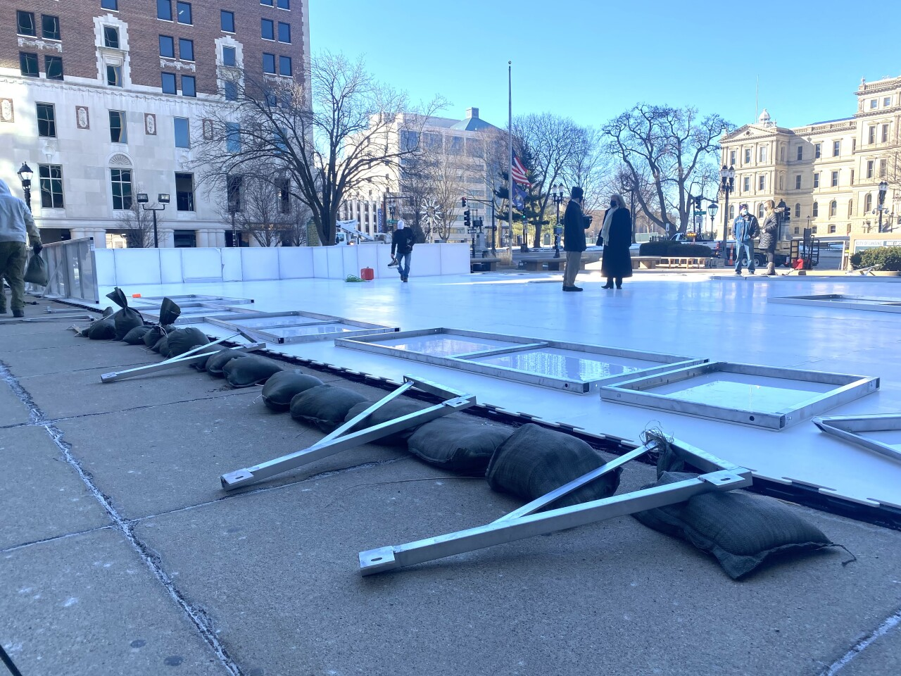 New ice skating rink officially opening tomorrow during winterfest