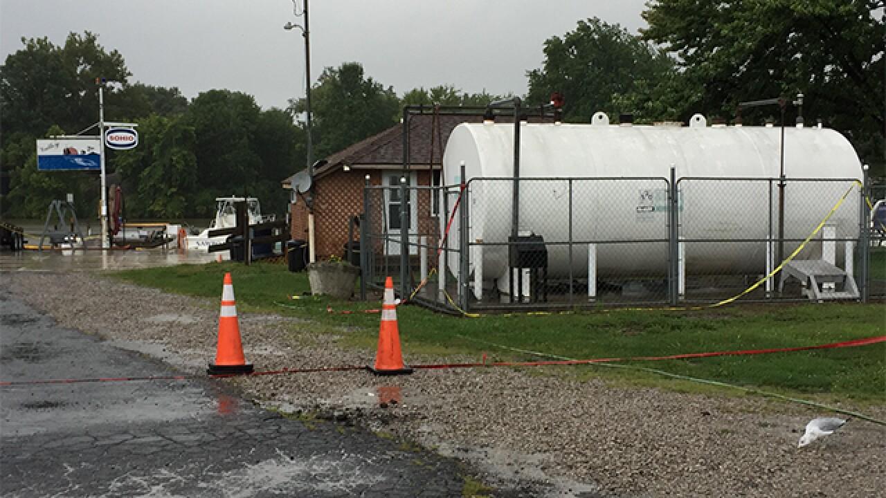 Gas leak reported in Vermilion River