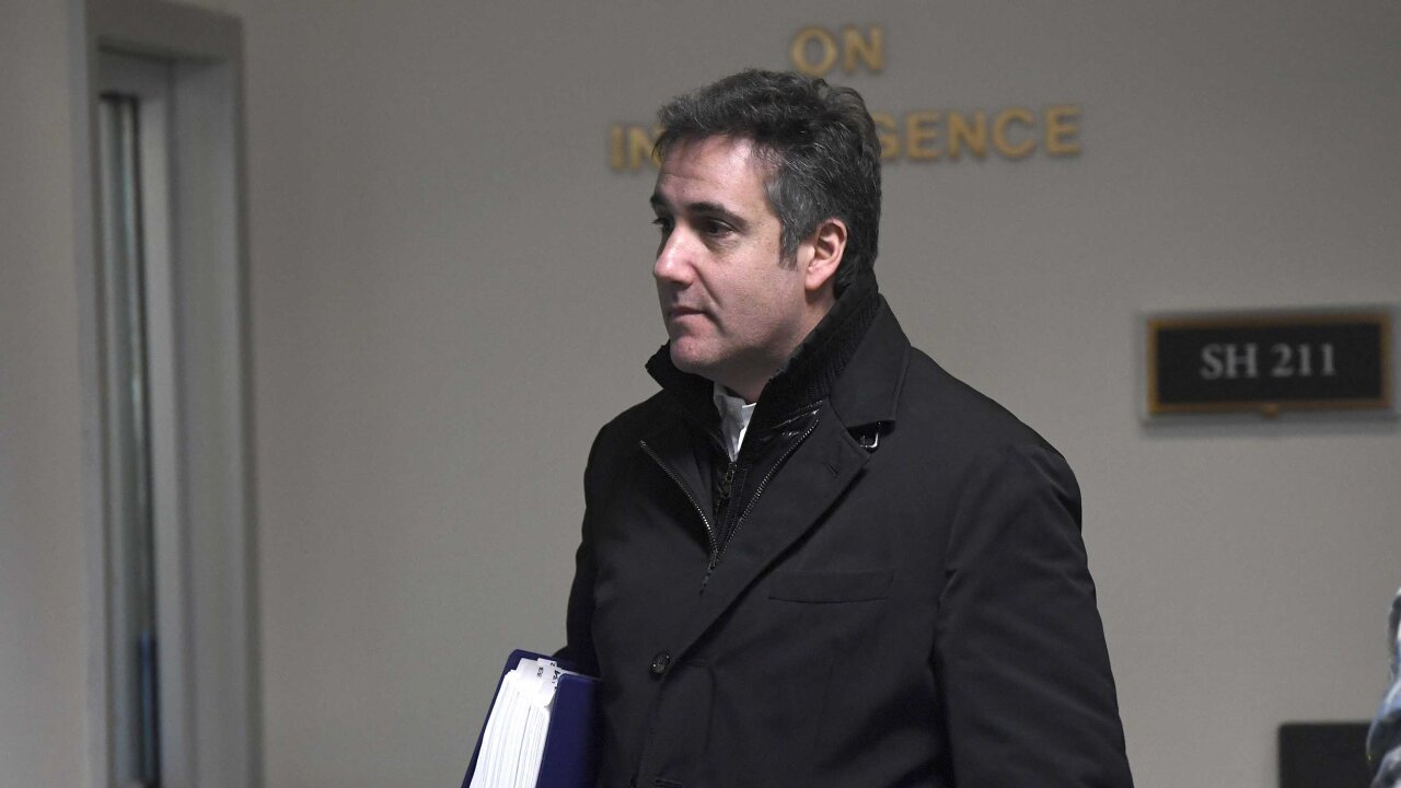 Michael Cohen testifies that Trump paid for portrait with his charity's funds
