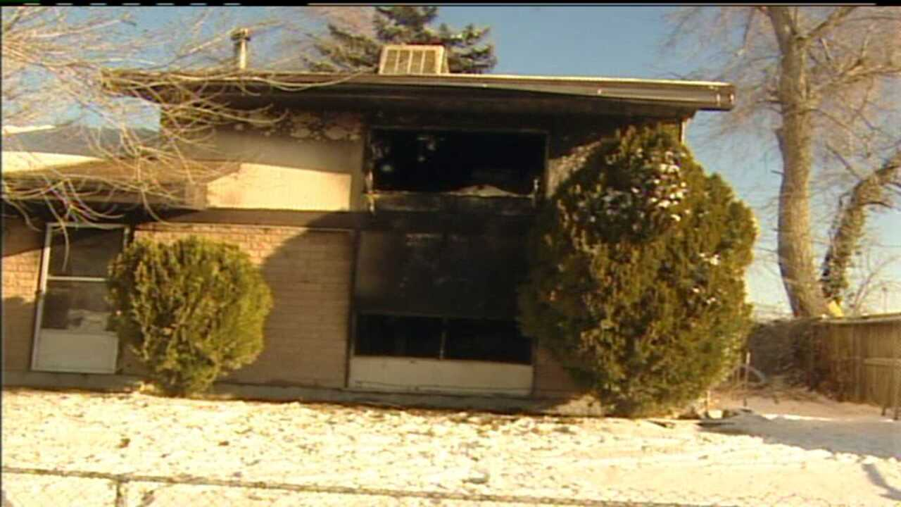 Three injured in West Valley house fire