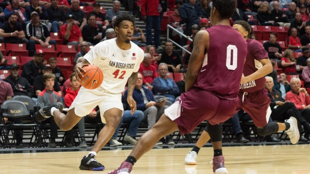 Aztecs get back on track with 79-74 victory over Xavier in Maui Invitational