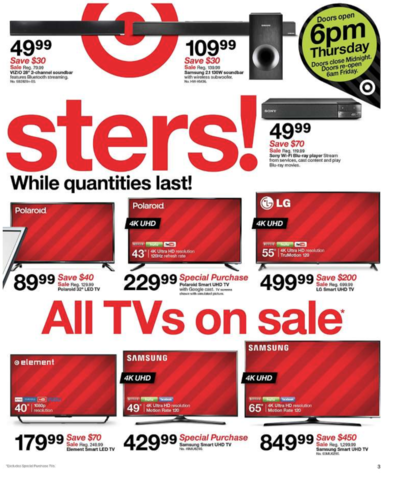 Photo gallery: Check out Target's 2017 Black Friday ad