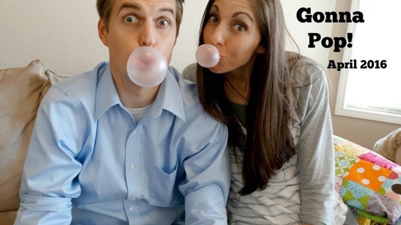 Infertility announcement photos go viral