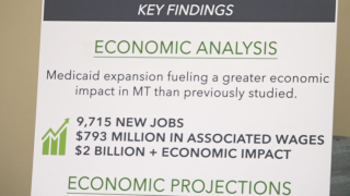 Hospital-funded study: Medicaid expansion has huge economic, health impact in Montana