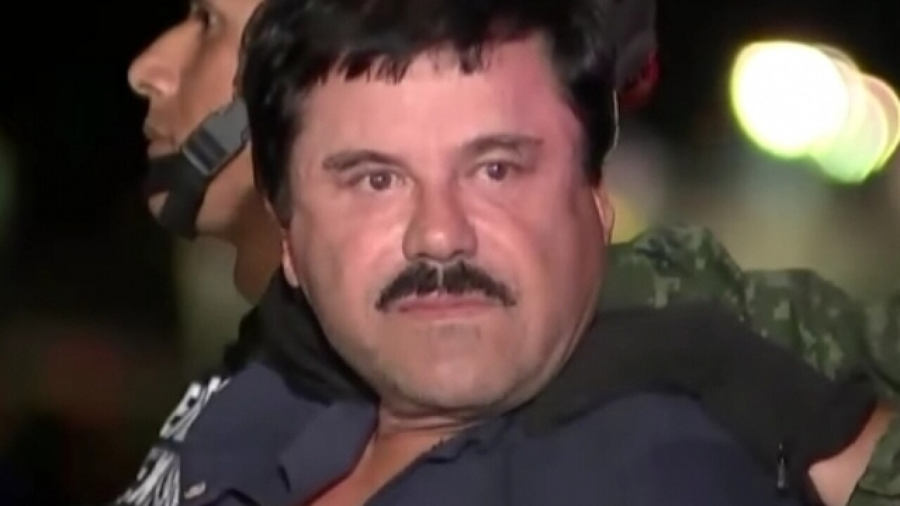 Joaquin 'El Chapo' Guzman has been extradited to the US