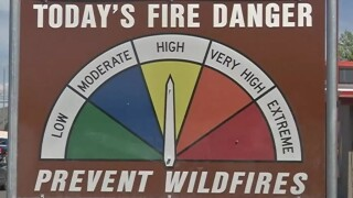 Missoula County fire danger on the rise