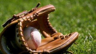 KNXV baseball glove