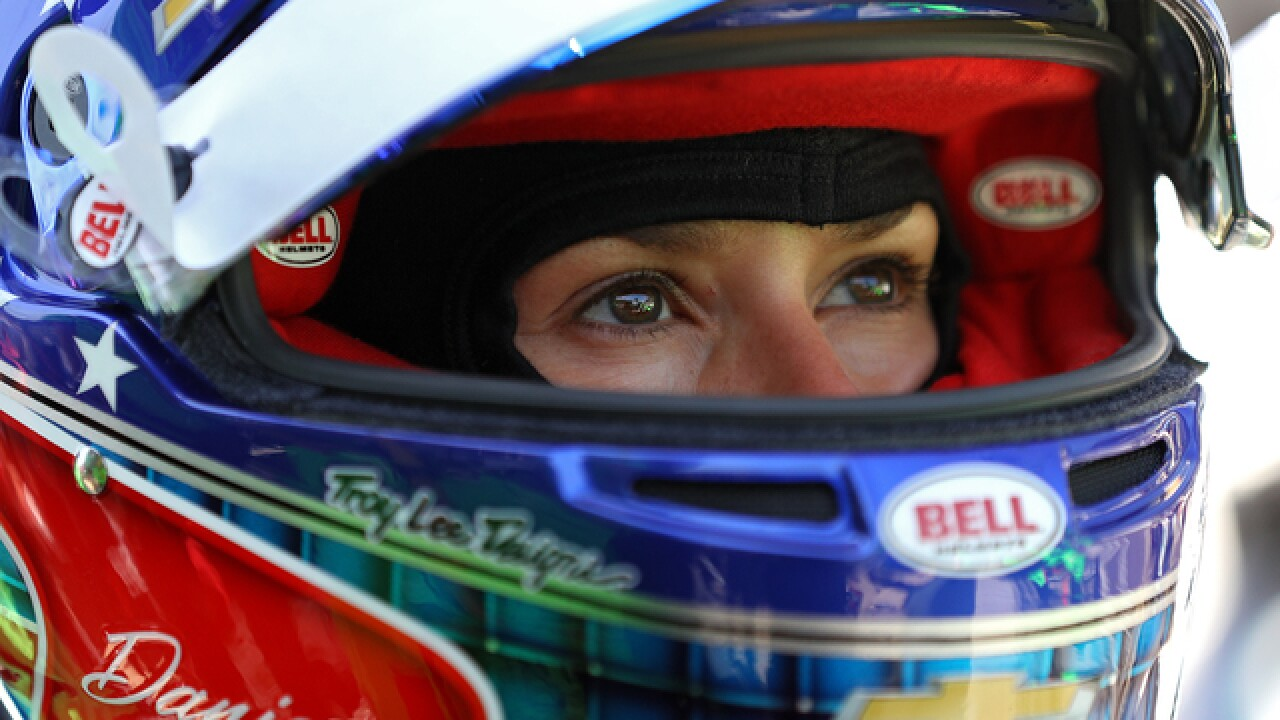 Part-timers Danica, Helio garner full attention at Indy 500