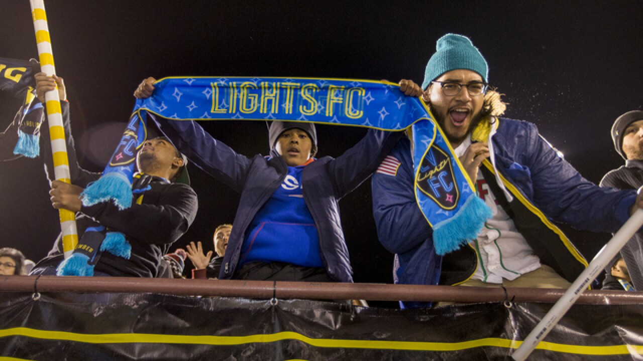 PHOTOS: Lights FC in Las Vegas