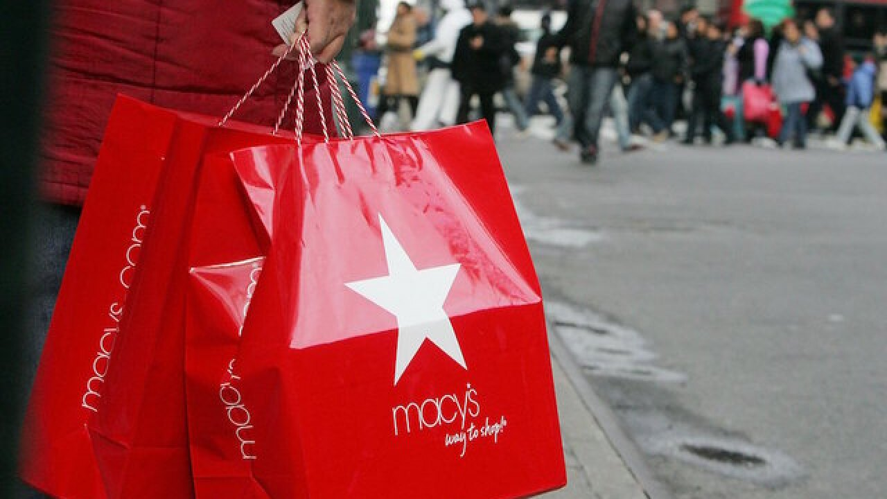 Macy's Inc. reports better than expected earnings