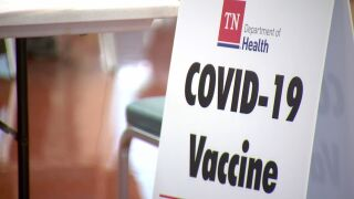 TDH covid vaccine sign