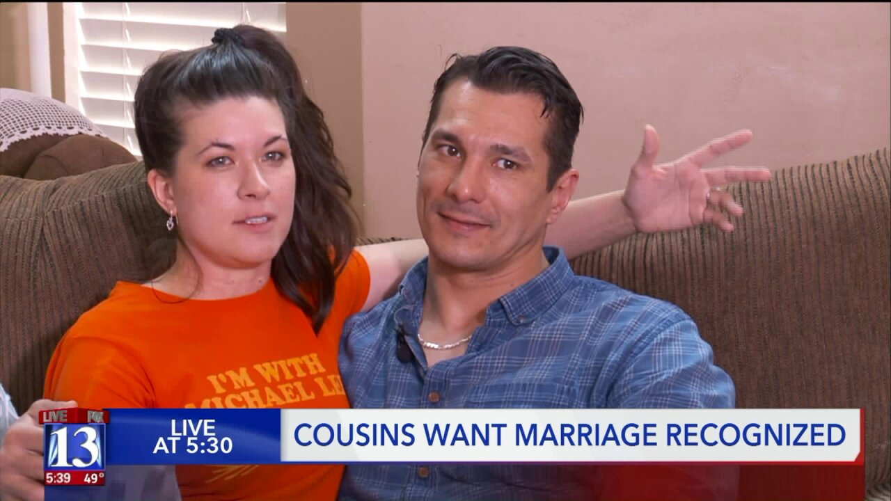 Utah cousins start petition for state to recognize their marriage