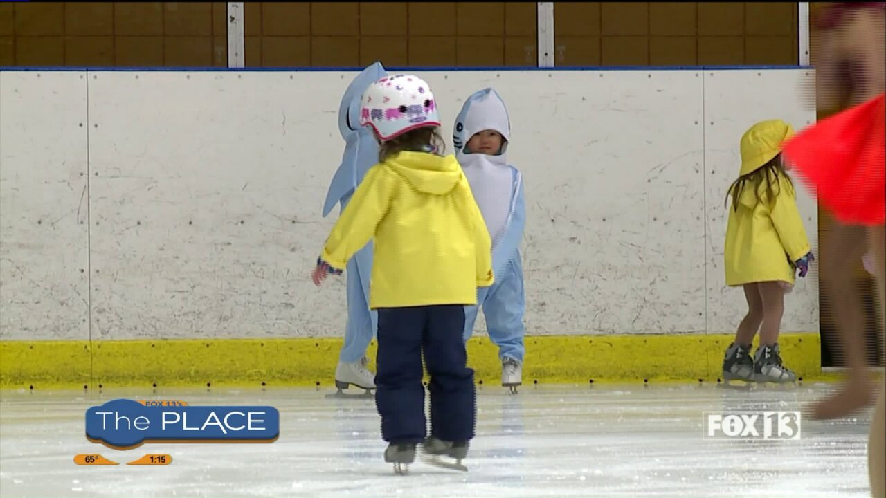 See figure skaters as young as 3 years old at local iceshow