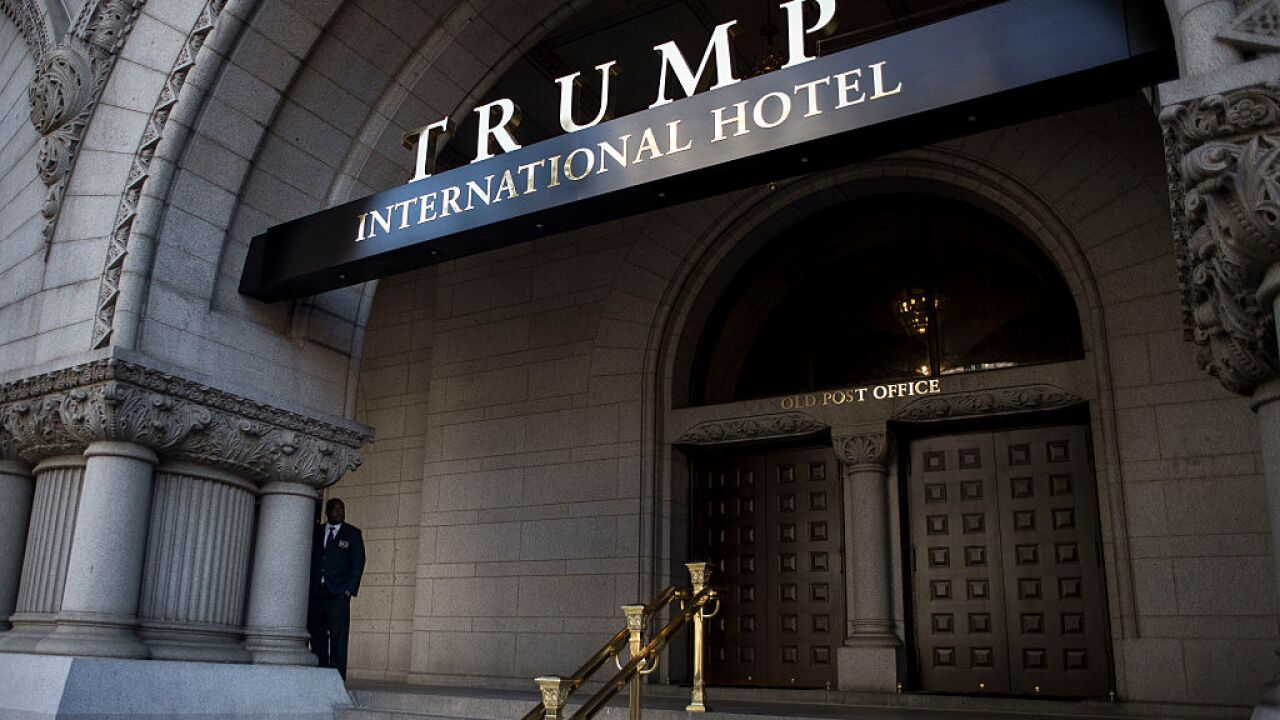 Judge allows Dems' lawsuit against Trump over business earnings to move forward
