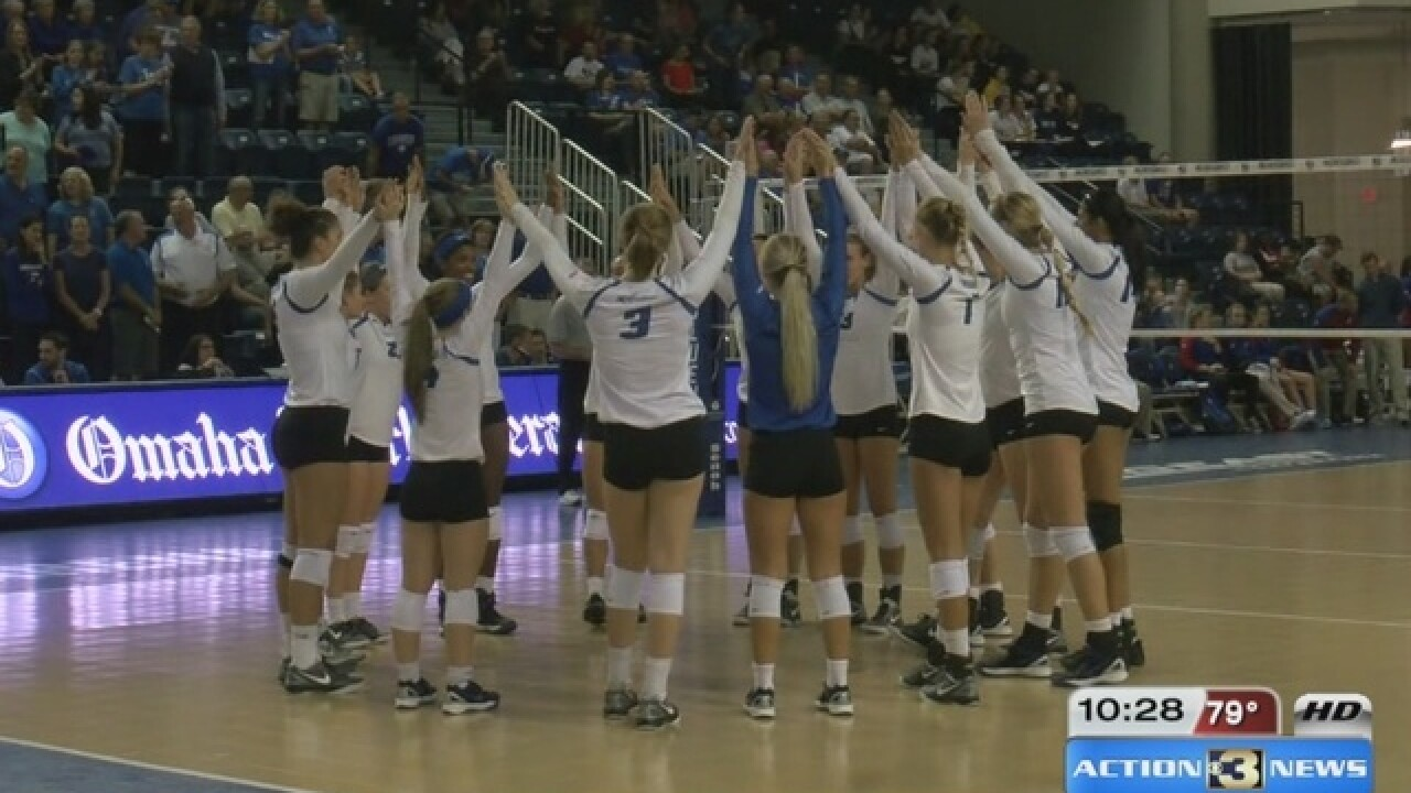 Creighton volleyball cements top 25 recruiting class