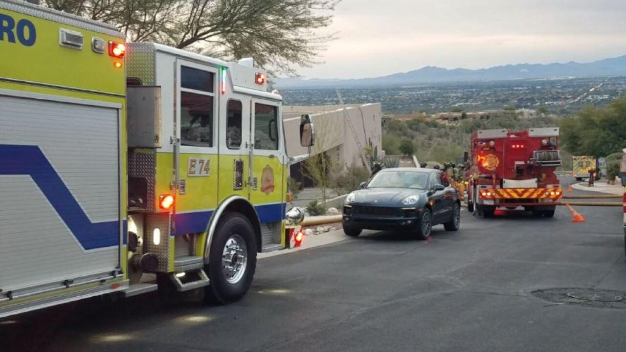 sabino canyon snyder house fire.JPG