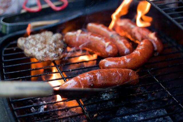Flame on grill credit Matt Janicki