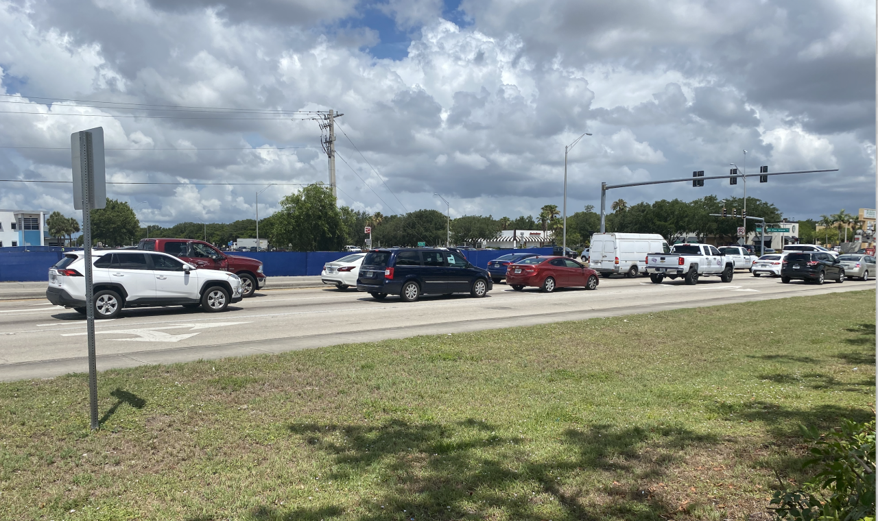 New construction is underway at the intersection of Pine Island Road and Pondella Road in Cape Coral