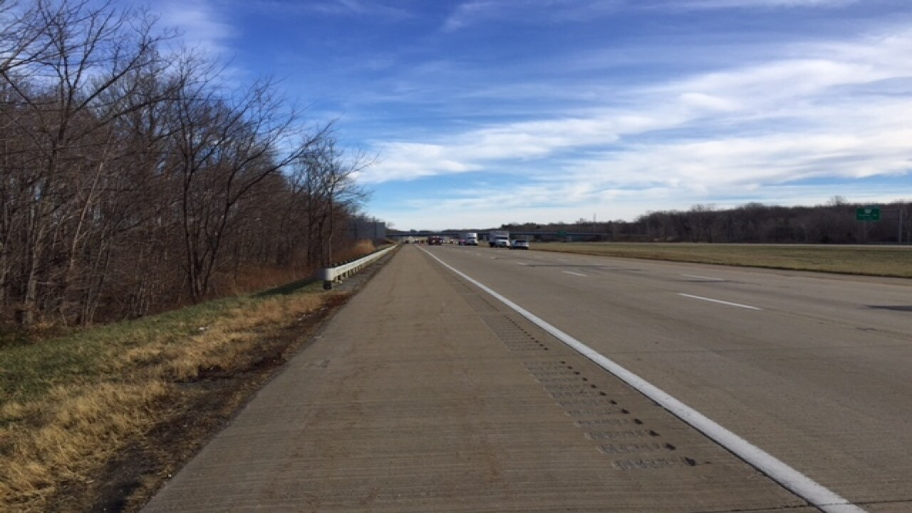 I-90 WB closed in Mentor due to serious crash