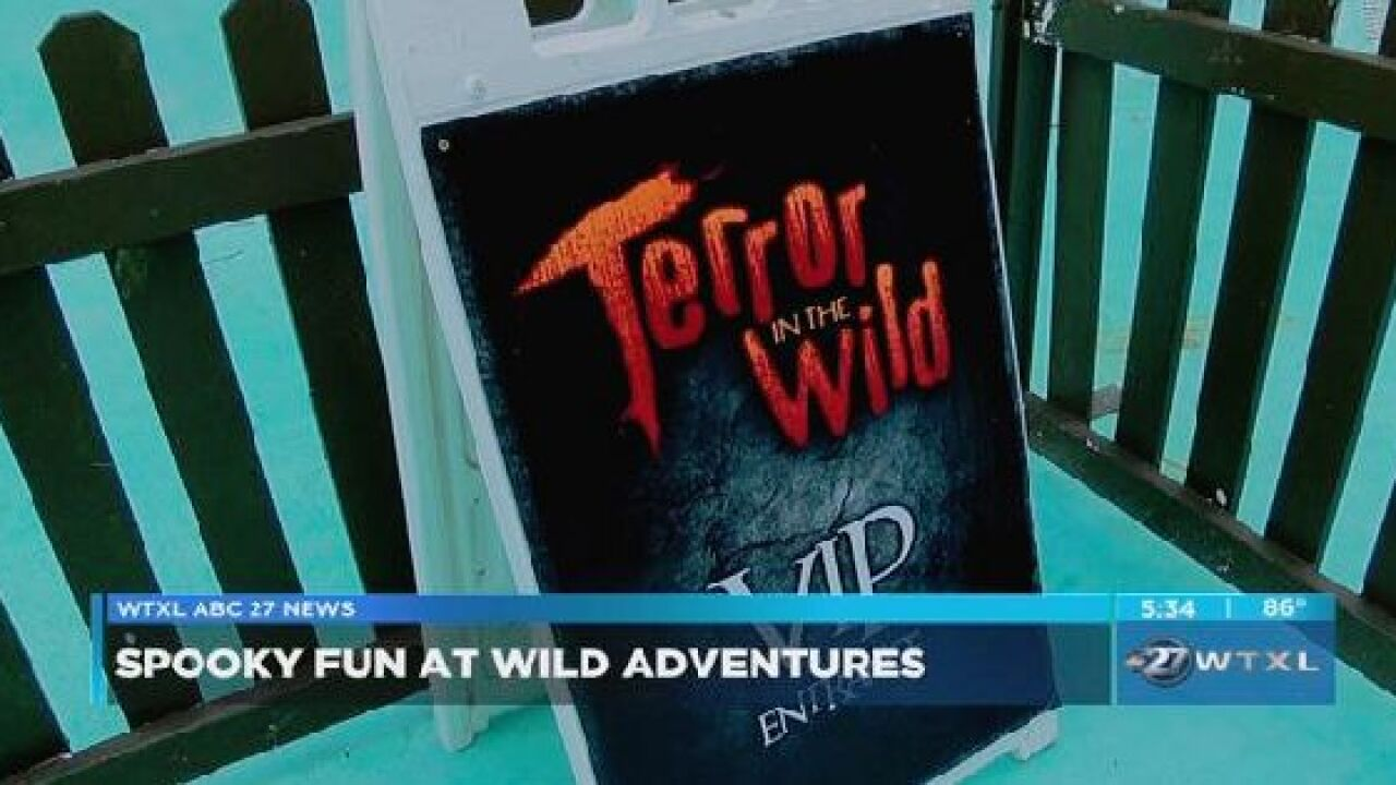 Wild Adventures features Terror in the Wild 2