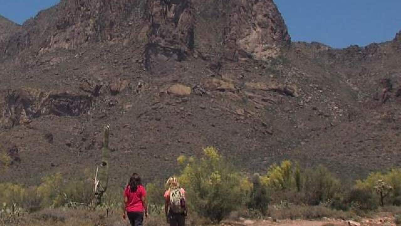 Firefighters rescue 2 ill hikers from Dreamy Draw Mountain