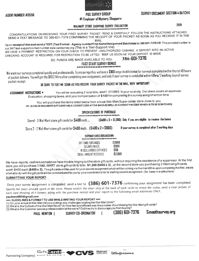 Scam LetterScam Letter