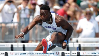 Chesapeake's Grant Holloway makes history as finalist for The Bowerman