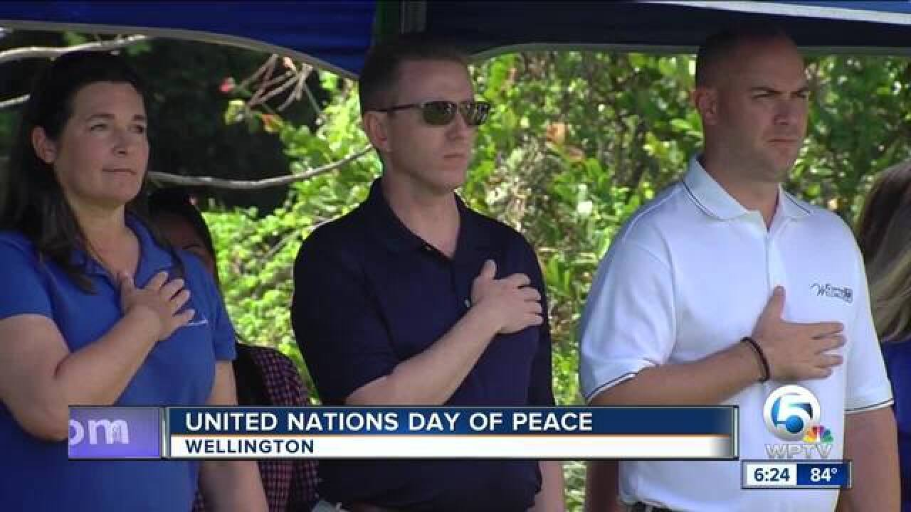 United Nations Day of Peace held in Wellington