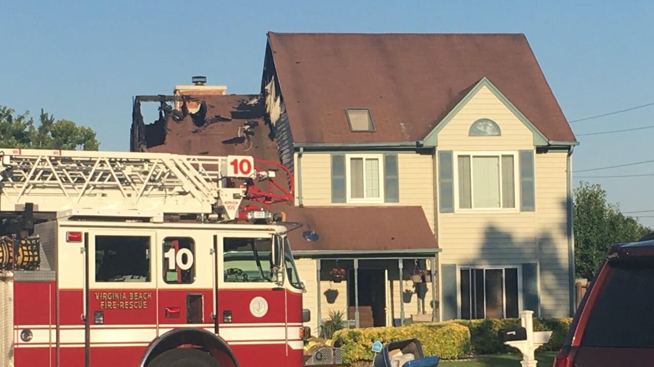 Virginia Beach crews respond to residentialfire