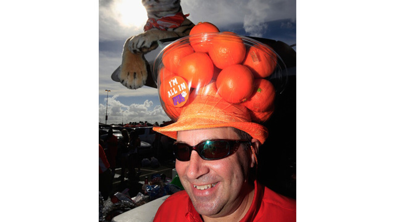 PICS: OU vs. Clemson in 2015 Orange Bowl