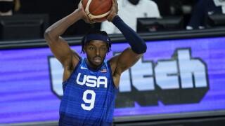 Jerami Grant Australia US Basketball