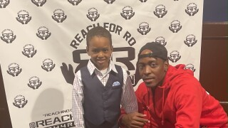 Romair Parrett founded the Reach for Ro Foundation three years ago