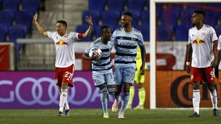 MLS Sporting KC Red Bulls Soccer
