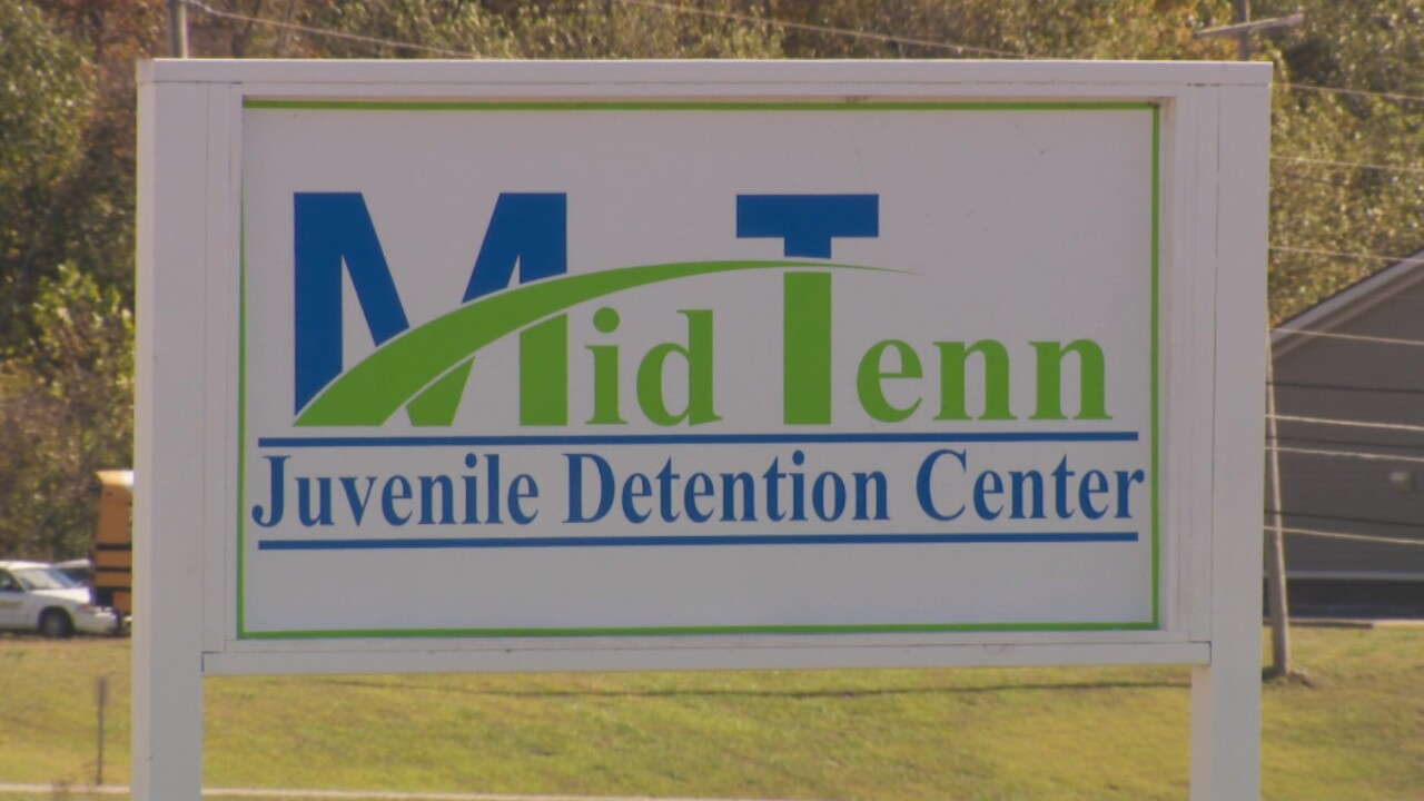 Middle Tennessee Juvenile Dentention Center sign 2.jpg